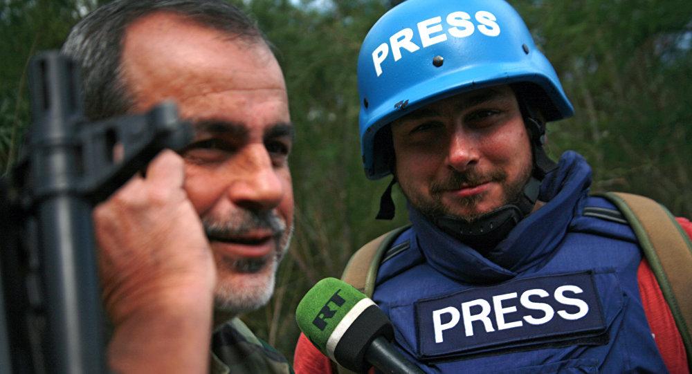 Sargon Hadaja, zpravodaj RT