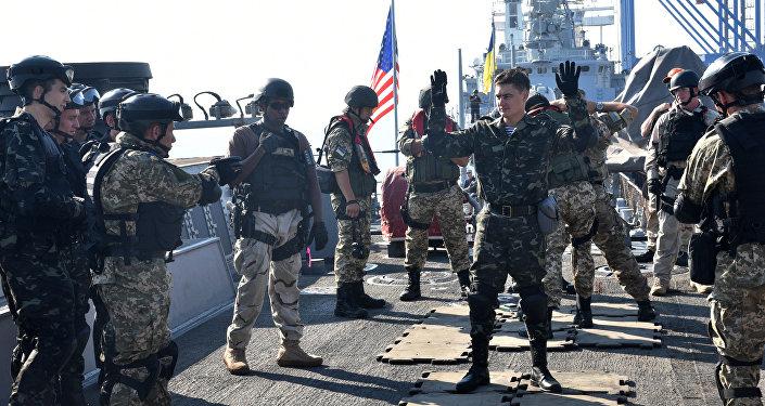 Společná ukrajinsko-americká cvičení Sea Breeze. Archivní foto