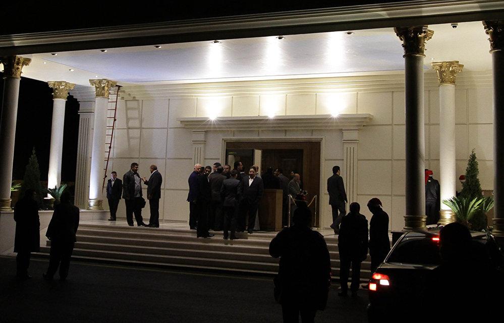 První kasino v Damašku 30. prosince 2010.