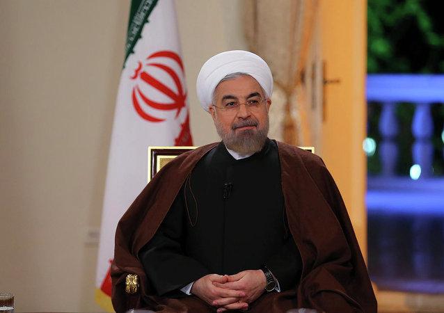 Iránský prezident Hasan Rúhání