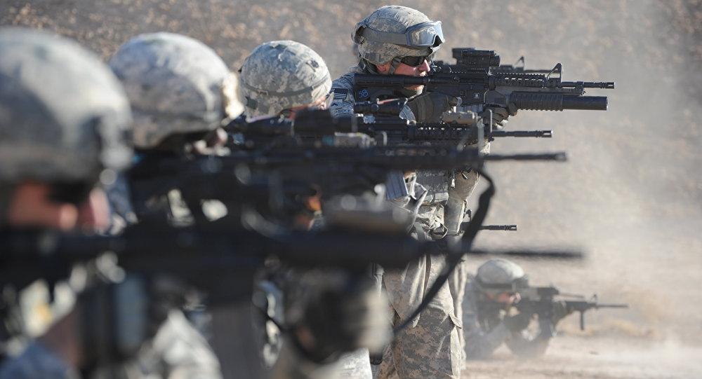 Vojáci USA v Iráku