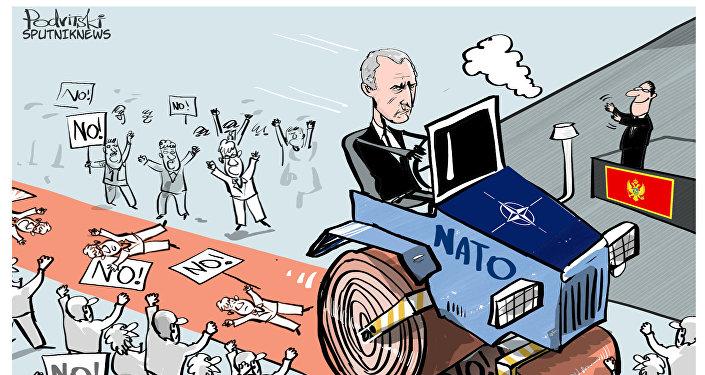 NATO vstupuje do Černé Hory