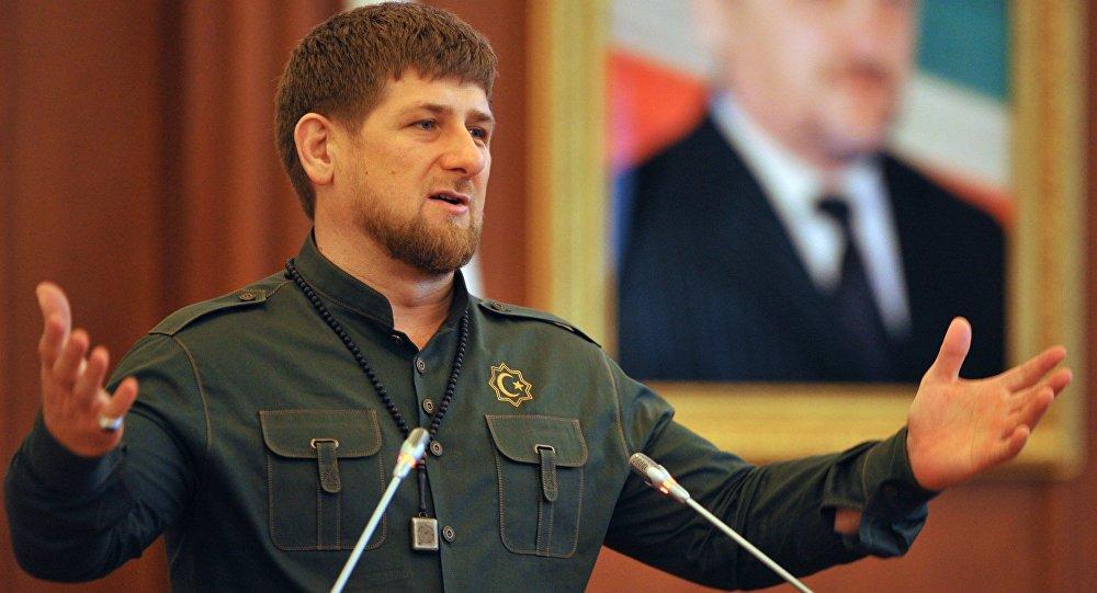 Čečenský prezident Ramzan Kadyrov
