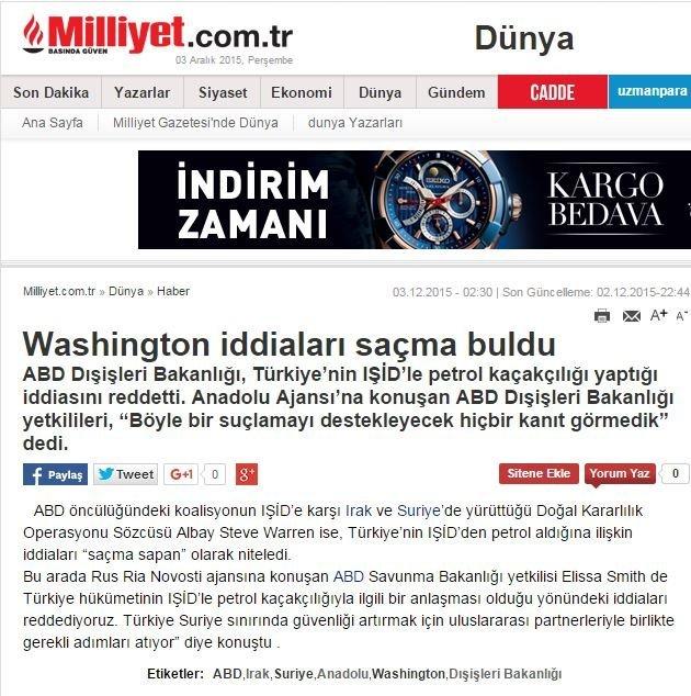 Noviny Milliyet