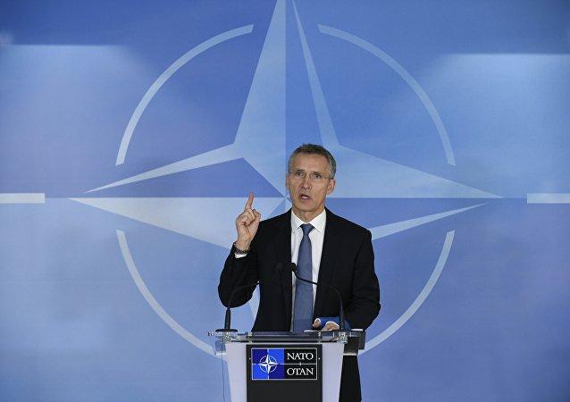 Generální tajemník aliance Jens Stoltenberg