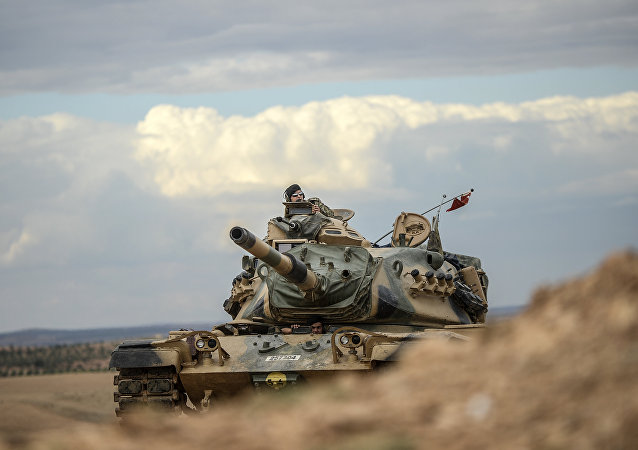Turecký tank. Ilustrační foto