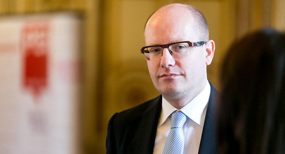 Bývalý předseda české vlády Bohuslav Sobotka