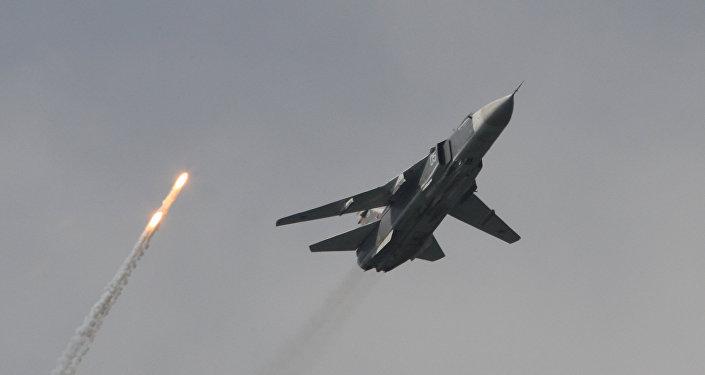 Útočný letoun Su-24M