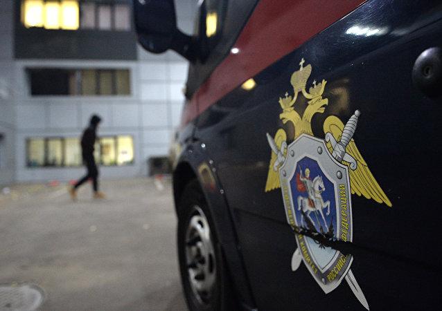 Automobil Vyšetřovacího Výboru. Ilustrační foto