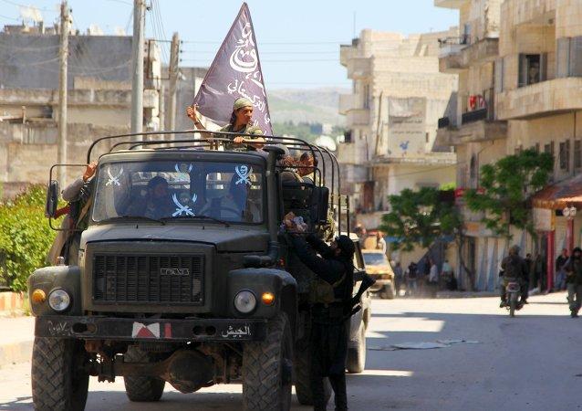 Bojovníci Džabhat an-Nusrá