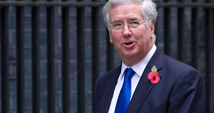 Ministr obrany Velké Británie Michael Fallon