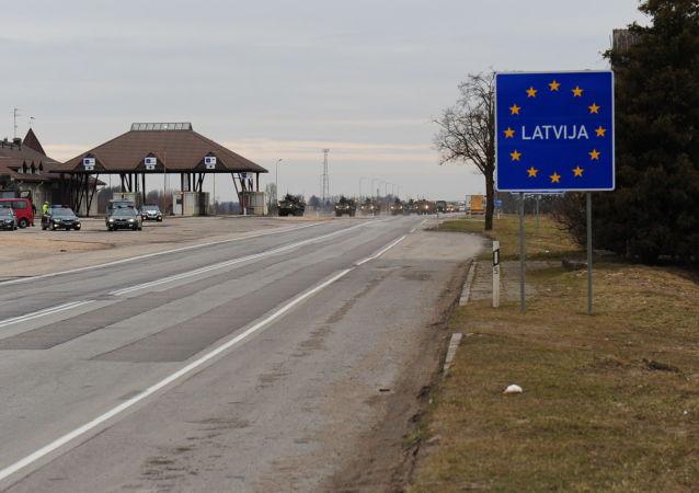 Lotyšská hranice