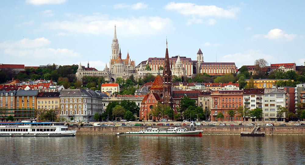 Budapešť, Maďarsko.