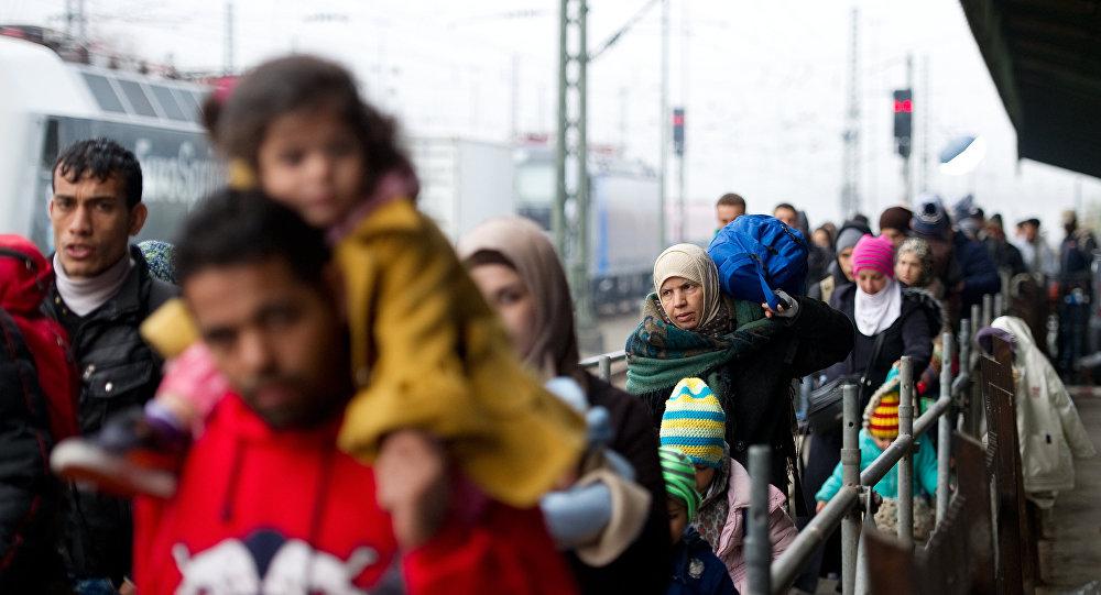 Migranti v Düsseldorfu