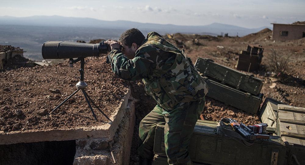 Voják syrské armády