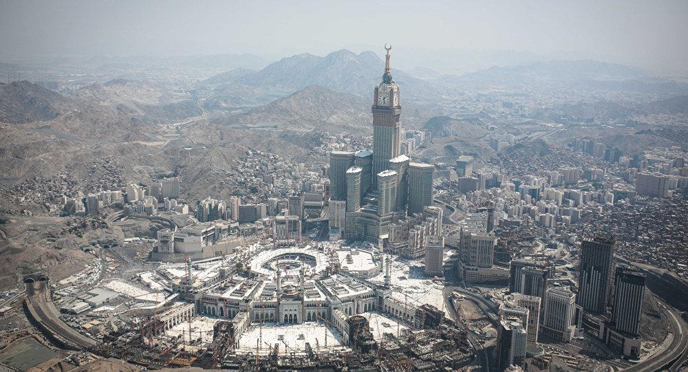 Pohled na Mekku, Saúdská Arábie