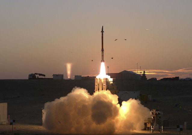 Systém protiraketové obrany David Sling