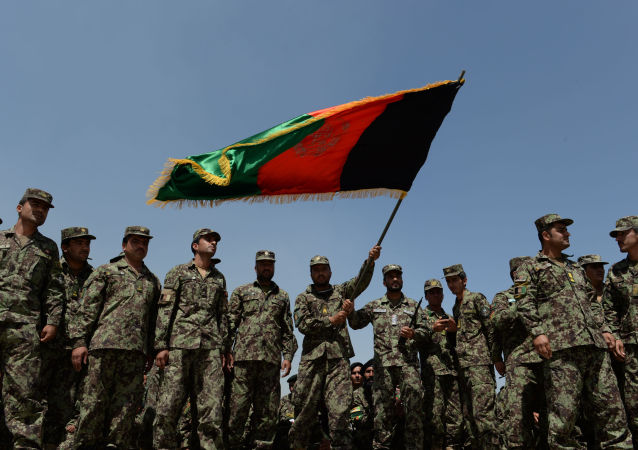Afghánští vojáci