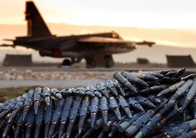 Munice na ruské základně v Sýrii