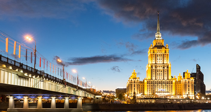 Hotel Ukrajina v Moskvě