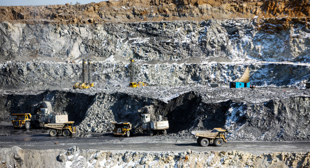 Zlatý důl. Ilustrační foto