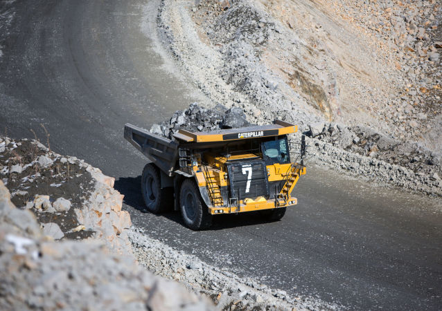 Zlatý důl Pioner (pionýr) v Amurské oblasti