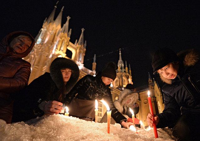 Katedrála Neposkvrněného početí v Malé Gruzínské ulici v Moskvě