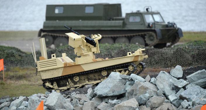 Bojový robot