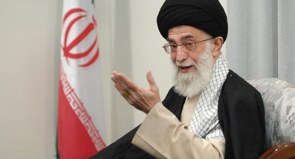 Nejvyšší vůdce Íránu Alí Chameneí