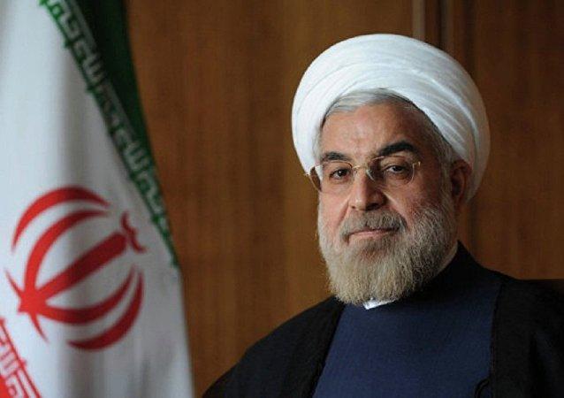 Prezident Íránu Hasan Rúhání