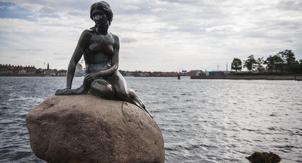 Socha malé mořské víly, Kodaň