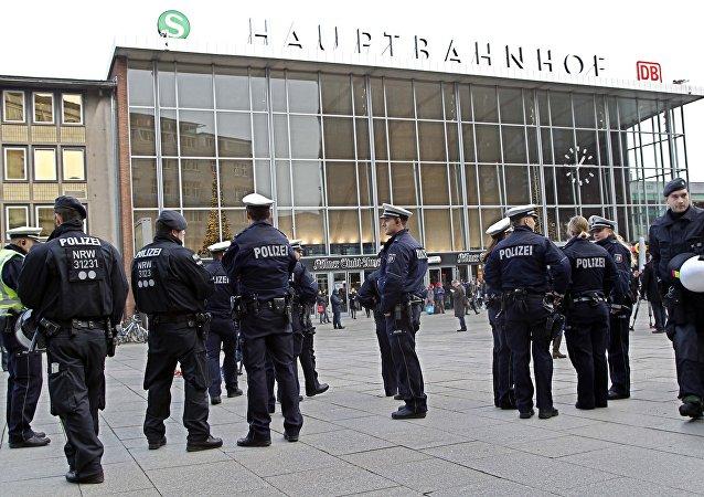 Policie v Kolíně