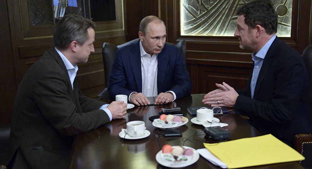 Vladimir Putin poskytl interview pro německý časopis Das Bild