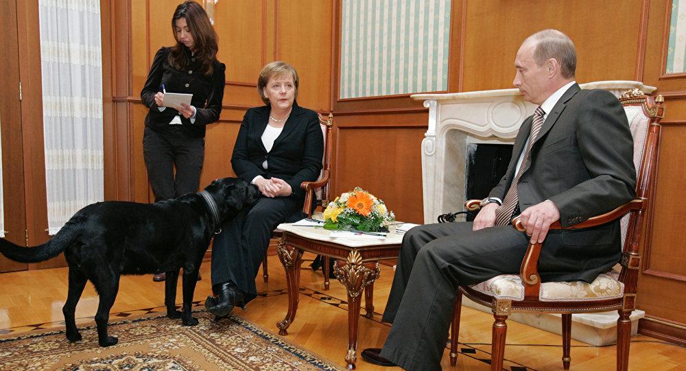 Jednání Putina a Merkelové v Soči, 2007