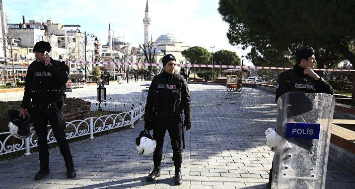 Výbuch v Istanbulu
