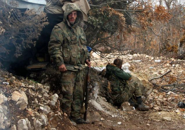 Syrští vojáci na severu Lázikíje