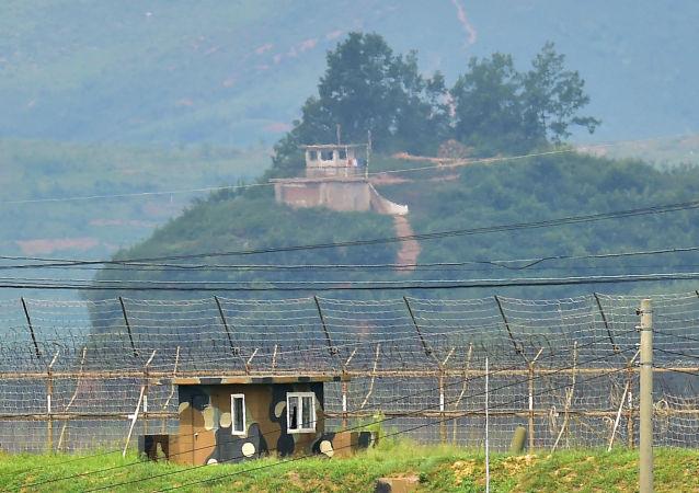 Hranice mezi Jižní Koreou a KLDR