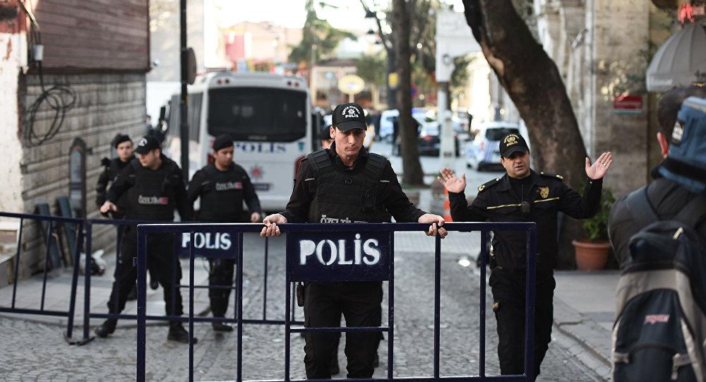 Turečtí policisté