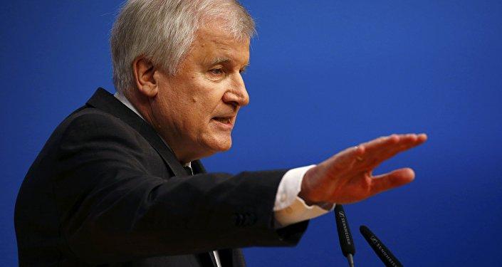 Premiér Bavorska Horst Seehofer