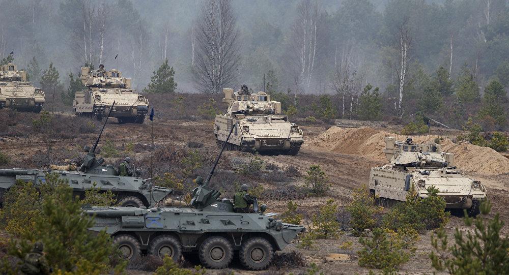 Cvičení NATO Iron Sword 2014 v Litvě