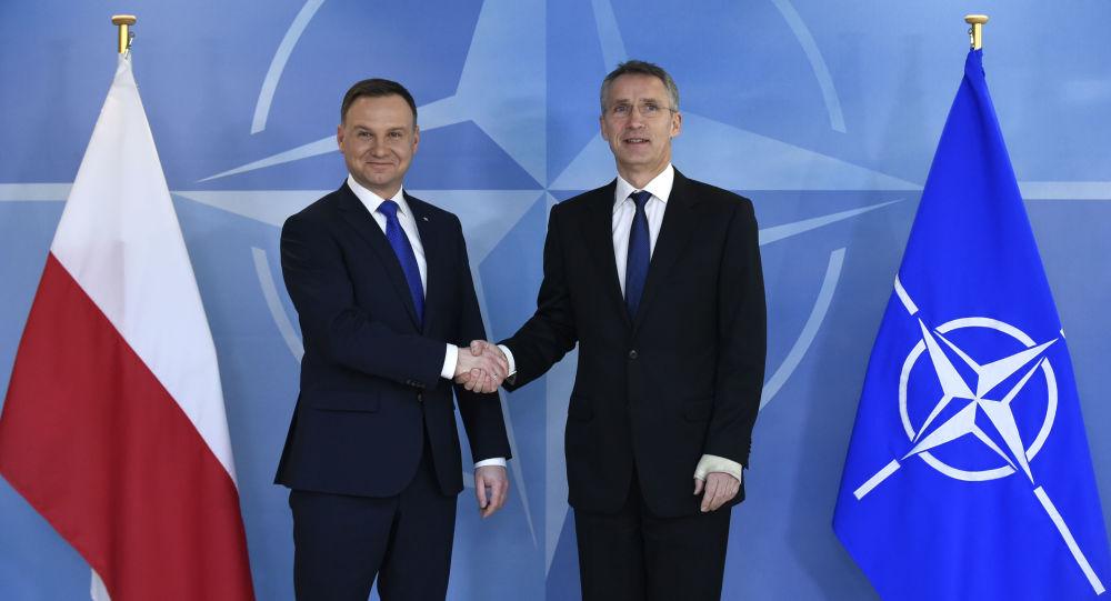 Andrzej Duda a Jens Stoltenberg