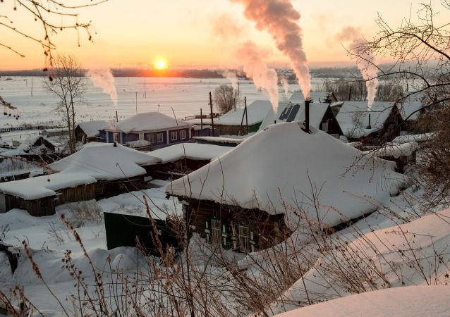 Sibiřská zima