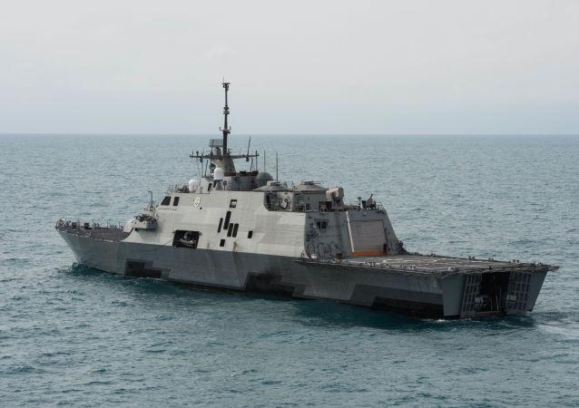 Fregata vojenského námořnictva USA Fort Worth LCS-3