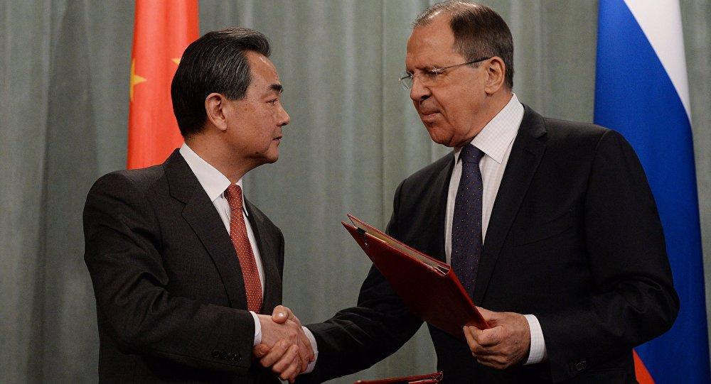 Setkání ministrů zahraničí Ruska a Číny