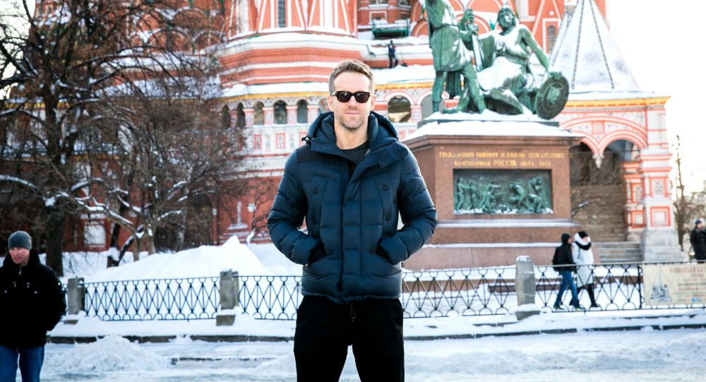 Ryan Reynolds v Moskvě