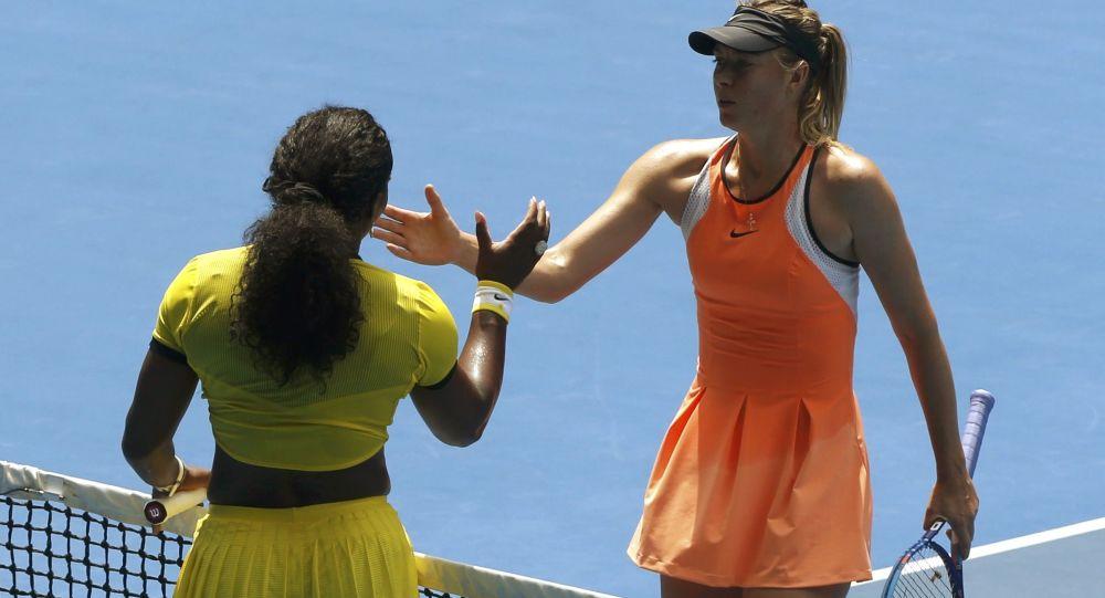 Serena Williamsová a Maria Šarapovová