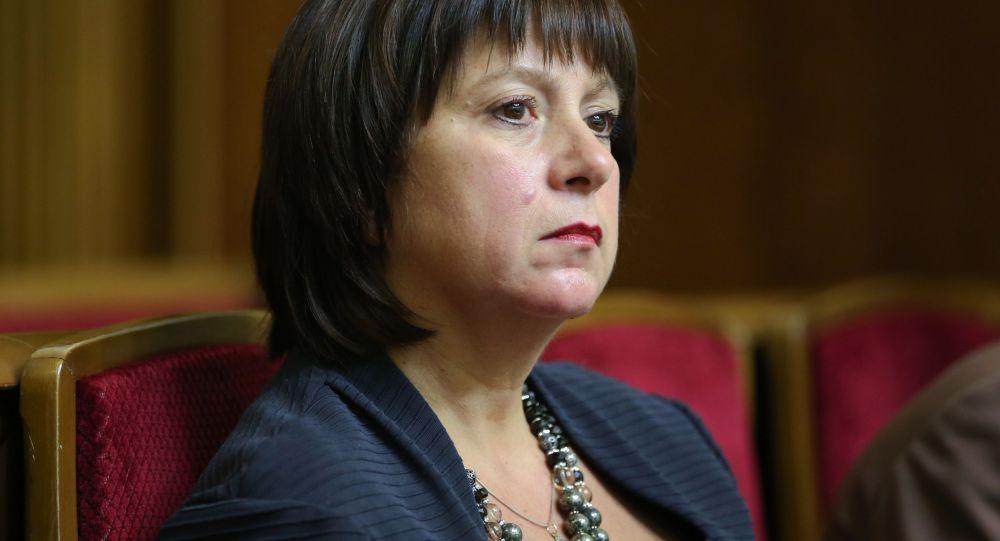 Ukrajinská ministryně financí Natalja Jaresková