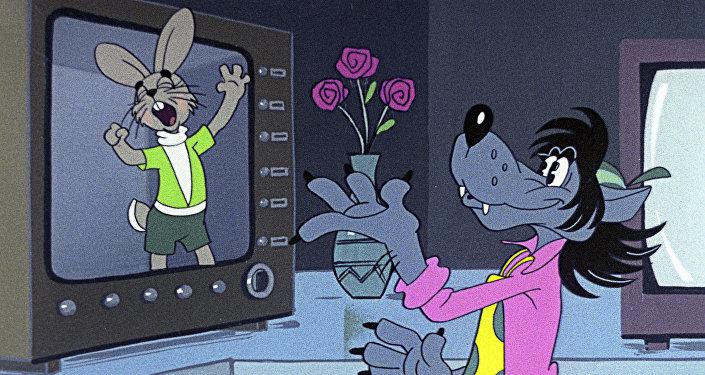 Ukázka z animace Jen počkej, zajíci!