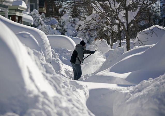 Sníh v New Jersey