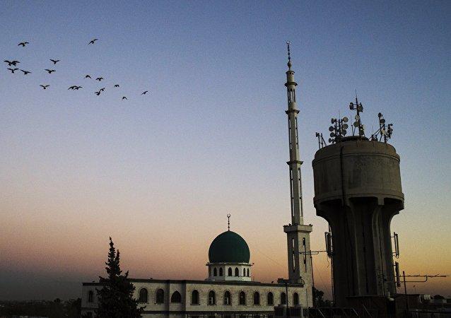 Mešita v Damašku